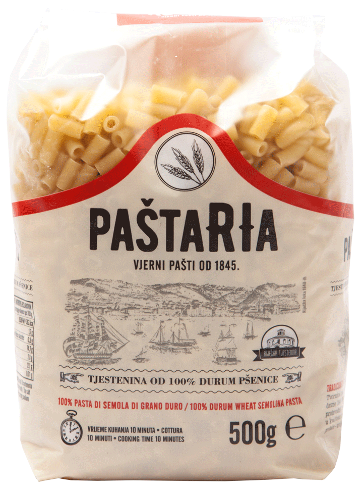 Durum Maccheroni packaging