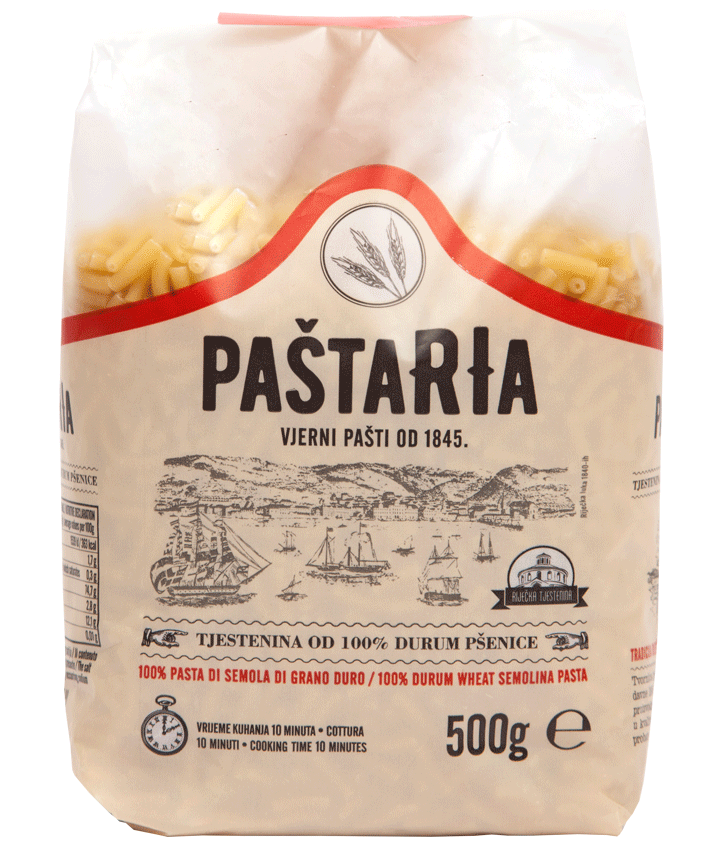 Durum Maccheroni small packaging