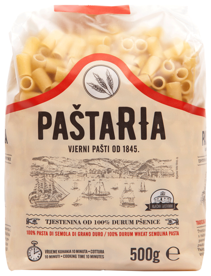 Durum Maccheroni large packaging