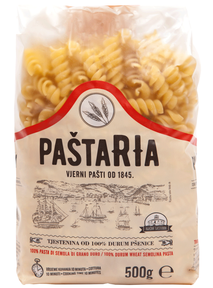 Durum Fusilli packaging