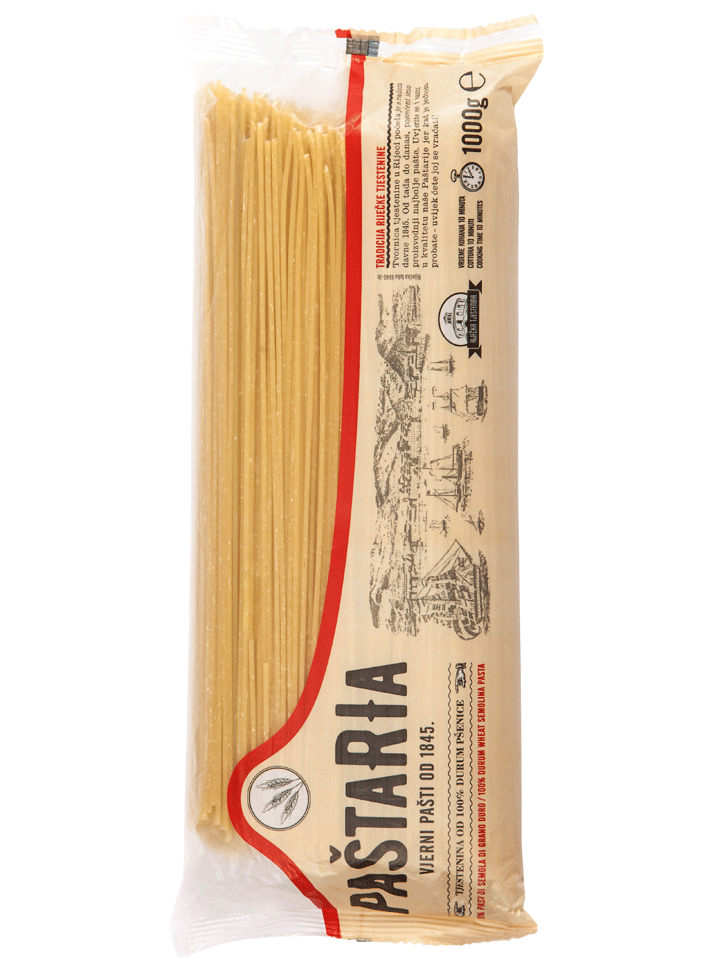 Durum Spaghetti 1000g packaging