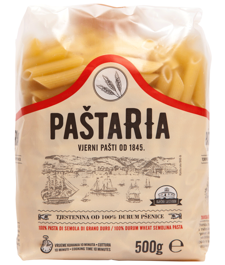 Durum Penne packaging